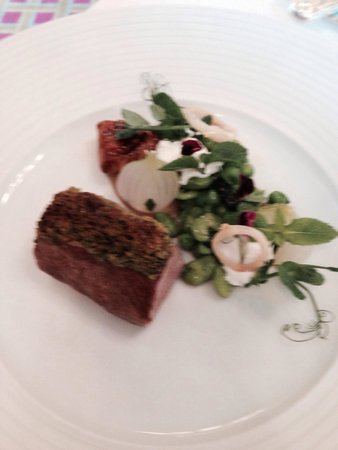 The Ritz London: Look at this for lamb...
