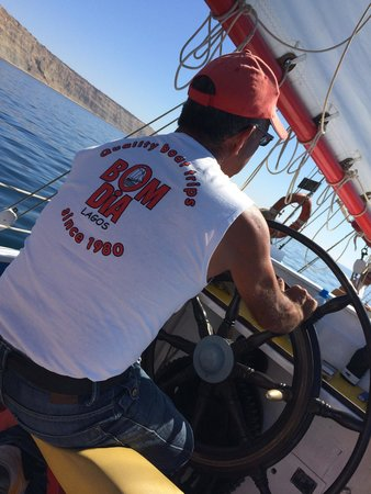 Bom Dia Boats: Our capitano!