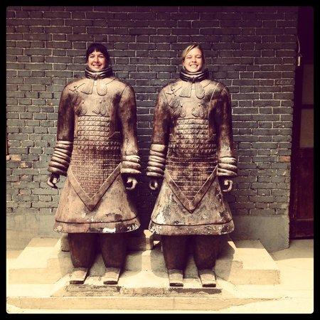 China Culture Tour: Terra Cotta Warrior Clay Factory