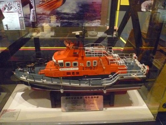 National Maritime Museum Cornwall: Lifeboat Model