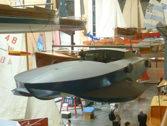 National Maritime Museum Cornwall: One of the real boats