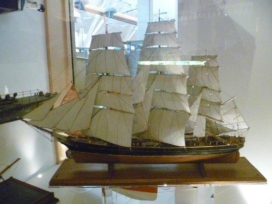 National Maritime Museum Cornwall: Model Boat