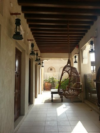 XVA Art Hotel : le camere al primo piano