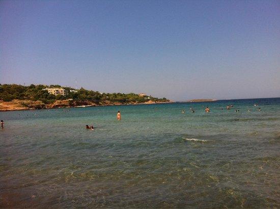 Kavouri Beach: Kavouri sea