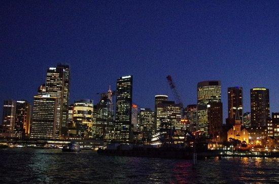 Sydney Harbour Bridge: Sydney Skyline At Night