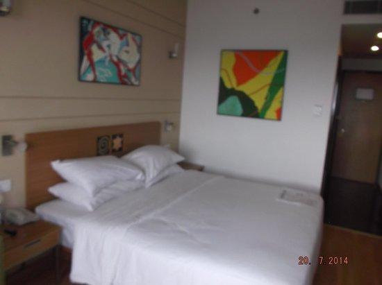 Lemon Tree Hotel, Electronics City, Bengaluru: Paintings in the room