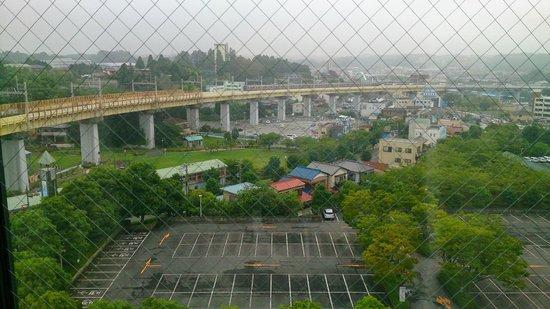 Richmond Hotel Narita: 京成線view