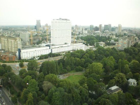 Euromast Tower: view from tower
