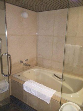 Mielparque Nagoya: バスルームの奥にシャワーブースがあります。