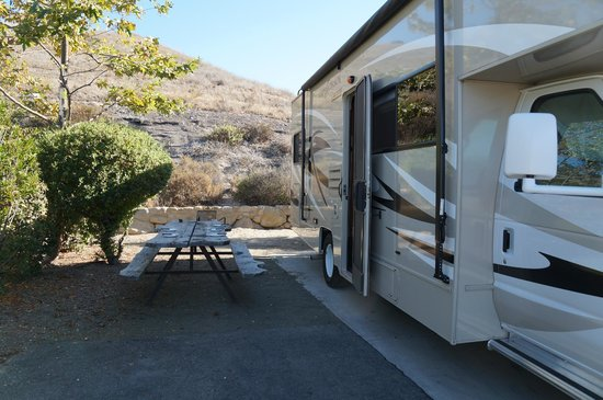 Ocean Mesa Campground at El Capitan : Site 819