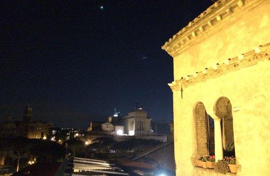 Hotel Forum Roma: La vista dalla terrazza superiore!