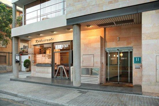 hotel villa goma zaragoza:
