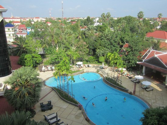 The Privilege Floor by BOREI ANGKOR: Balcony view