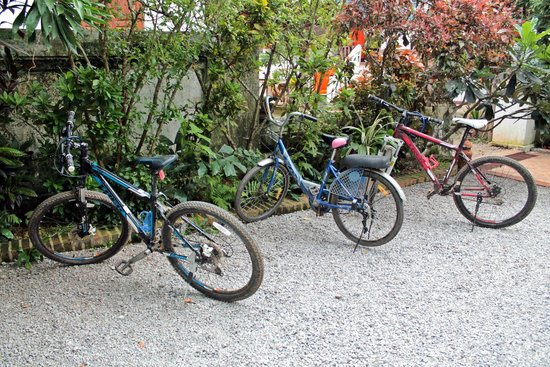 Villa Maydou : Free bikes for guests' use