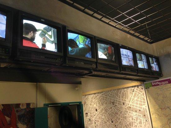 Graffalgar: Hall d'accueil