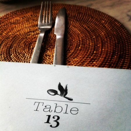 Table Thirteen : Table 13 sets the Table