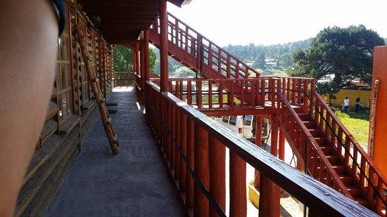 Cabanas Claro de Luna: Escaleras