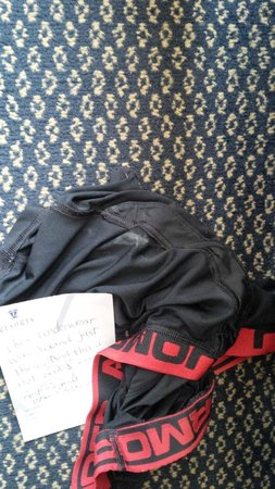 Resorts Casino Hotel: used underwear found near the bed (was not our)