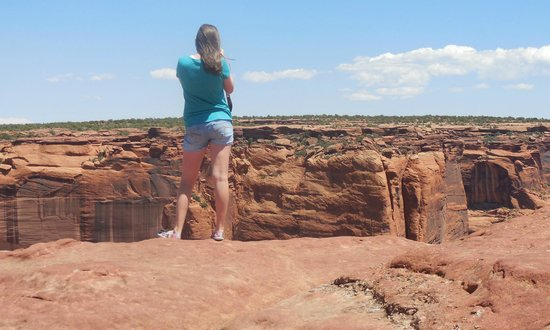 Canyon de Chelly National Monument: One of many breathtaking views