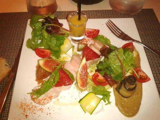 Le Gout du Jour: Salade fraicheur terre et mer