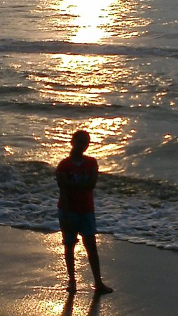 Marina Beach: Glittering Sun Rays !!!
