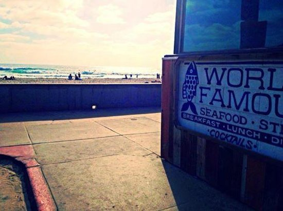 Photo of American Restaurant World Famous at 711 Pacific Beach Dr., San Diego, CA 92109, United States