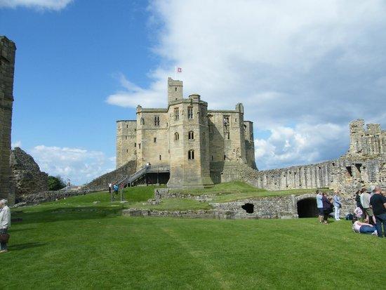 Warkworth Castle & Hermitage: The main quarters