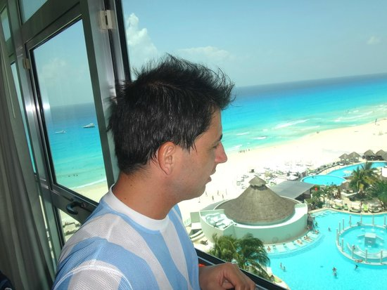 ME Cancun: Vista desde habitación