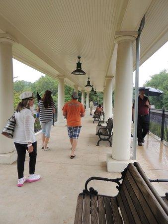 Valley Forge National Historical Park : 2014 platform added to the refurbished train station