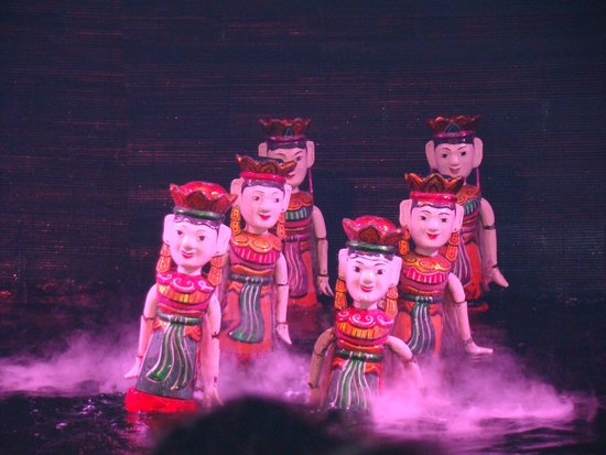 Thang Long Water Puppet Theater : Imagem Puppet show