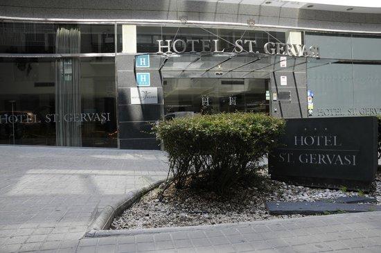 Silken St. Gervasi Hotel: Frontale Hotel