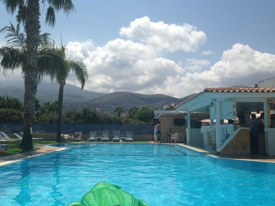 Vergina Studios & Apartments : Pool/Bar area