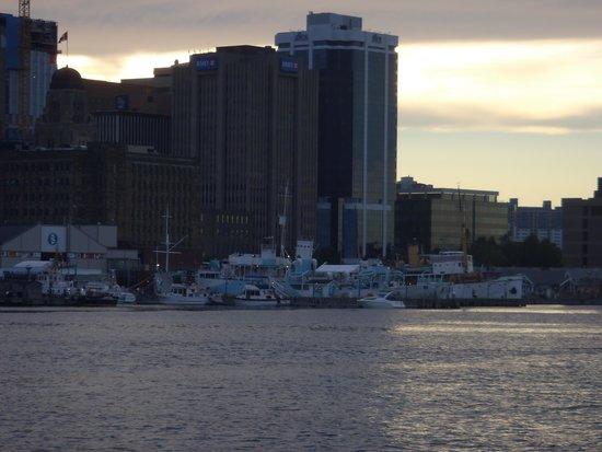 HMCS Sackville: view from the harbour