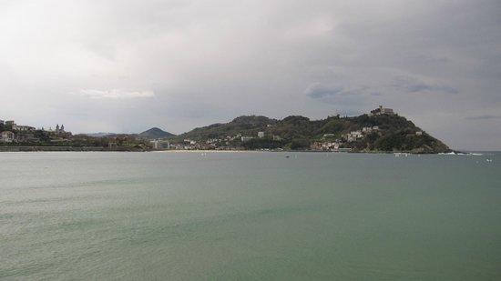 Vista del monte Igueldo