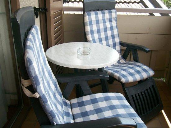 Christophs Hotel: balcone