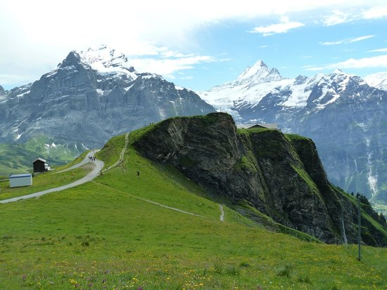 Grindelwald, Suiza: The walk to Balchapsee