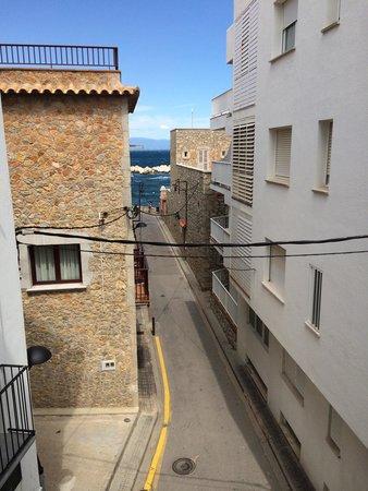 Pensio Vista Alegre: View from room 201.