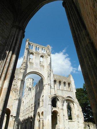 Abbaye de Jumieges: Dimensione verticale