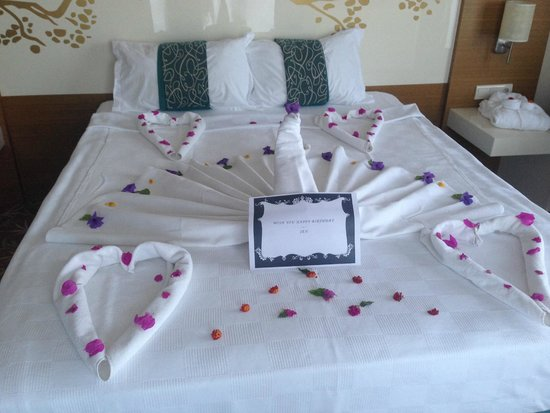 Venosa Beach Resort & Spa: birthday decorations
