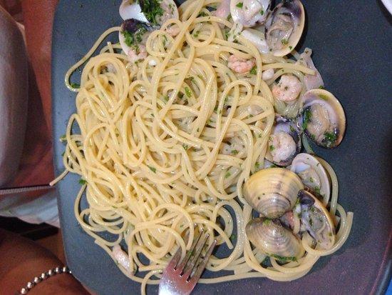 Da Gio' Lamai Beach Restaurant : Spaghetti ai frutti di mare