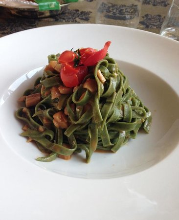 Wellness Hotel Fanes: pasta a pranzo