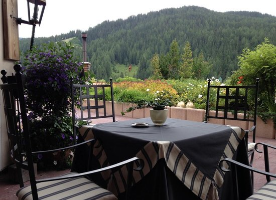 Wellness Hotel Fanes: terrazza