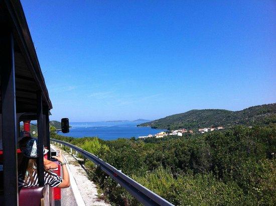 Bozava, Chorwacja: train to Sakarun beach
