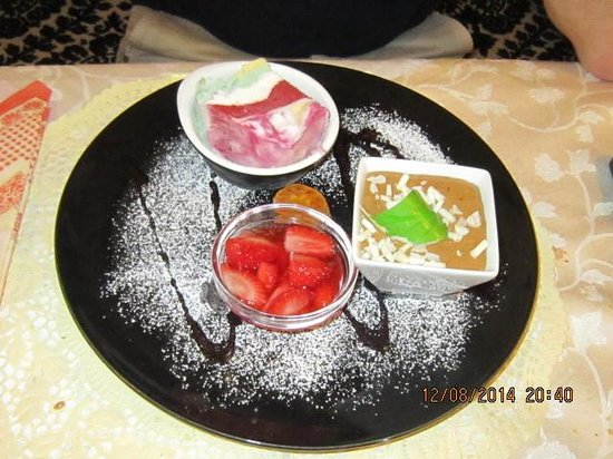 Hotel Rosslaufhof: Dessert da favola