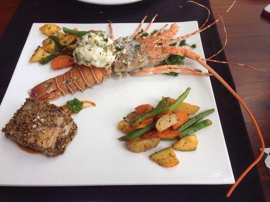 Eighth Bastion Hotel : Tasty fresh seafood