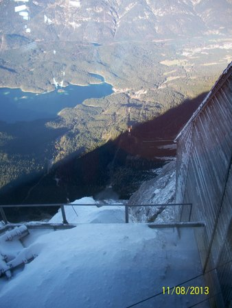 Zugspitze: From the top down...