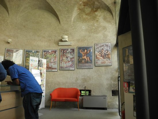 Castello del Buonconsiglio Monumenti e Collezioni Provinciali : ticket point