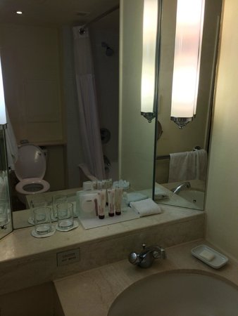 Le Meridien Piccadilly: Tiny Bathroom
