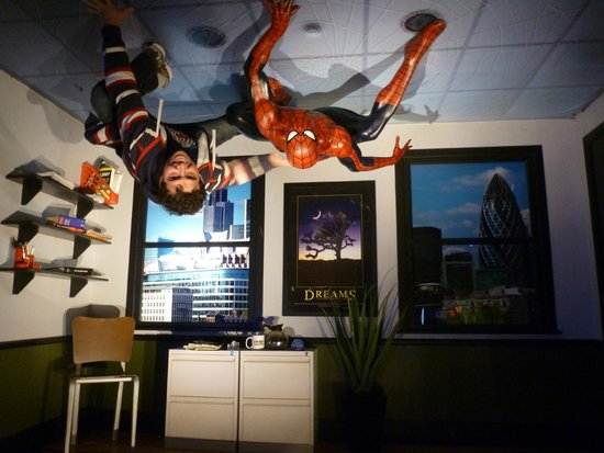 Madame Tussauds London: ala dos super herois
