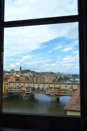 Galería de los Uffizi: from the gallery